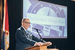 Cleveland Heritage Medal speaker