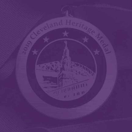 2019 Cleveland Heritage Medal logo